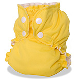 AppleCheeks Bamboo Bundle - Lemon Zest, Size 1