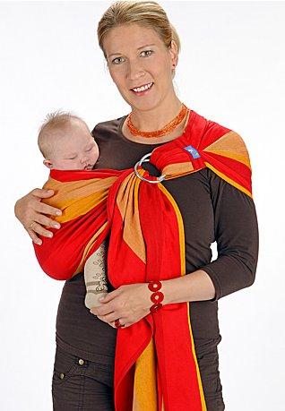 534fc816b5e Home   Baby Carriers   Woven Wraps   Hoppediz   Ring Sling   Delhi Ring  Sling - Pleated Shoulder
