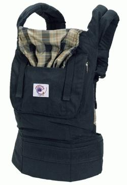 Ergo Baby Carrier - Organic Highland Navy Plaid