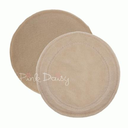 Pink Daisy Organic Cotton/Wool Nursing Pads