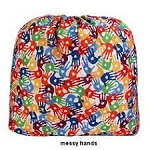 Blueberry Laundry Bag - Messy Hands