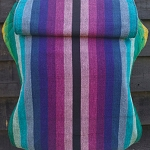 Connecta Toddler Wrap Conversion - Girasol Rainbow - Petite Straps