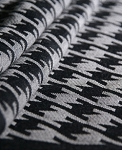 DidySling ~ Houndstooth Anthracite - Size 2 (210cm)