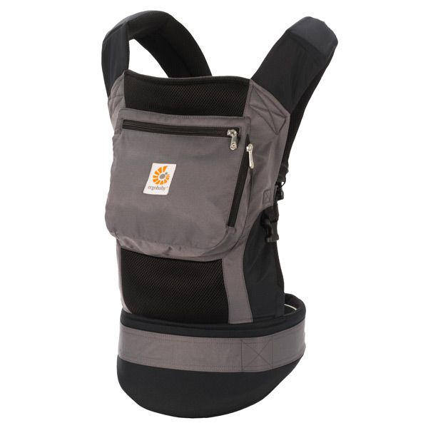 ERGObaby Black Charcoal Performance Carrier