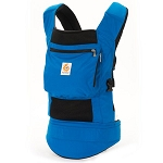 ERGObaby True Blue/Black Performance Carrier