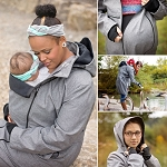 Hoppediz 4-in-1 Babywearing Coat - Large