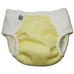Pocket Potty Training Pants - Caped Canary, medium