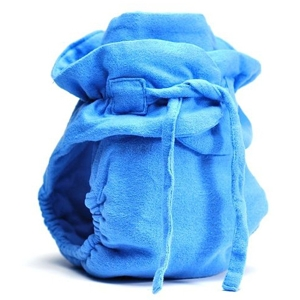 Tetro Fitted One-Size Diaper - Blue Note