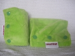 Baby Spats - Spring Green Minkee