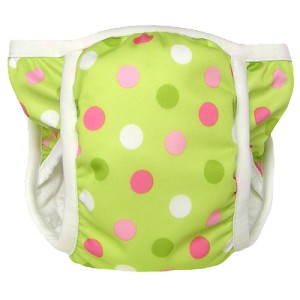 Bummis Potty Pants - Pistachio Dot